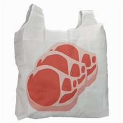 Meat Recycle Bag (one Side) by Mariart