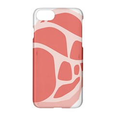Meat Apple Iphone 7 Hardshell Case by Mariart