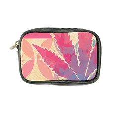 Marijuana Heart Cannabis Rainbow Pink Cloud Coin Purse by Mariart