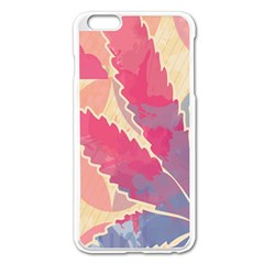 Marijuana Heart Cannabis Rainbow Pink Cloud Apple Iphone 6 Plus/6s Plus Enamel White Case by Mariart