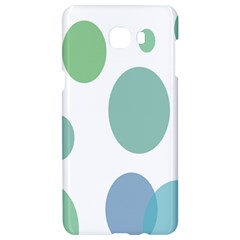 Polka Dots Blue Green White Samsung C9 Pro Hardshell Case  by Mariart