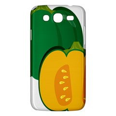 Pumpkin Peppers Green Yellow Samsung Galaxy Mega 5 8 I9152 Hardshell Case  by Mariart