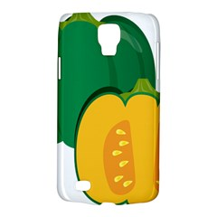Pumpkin Peppers Green Yellow Galaxy S4 Active by Mariart