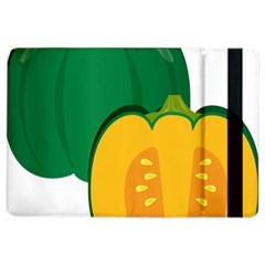 Pumpkin Peppers Green Yellow Ipad Air 2 Flip by Mariart