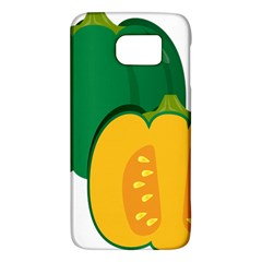 Pumpkin Peppers Green Yellow Galaxy S6 by Mariart