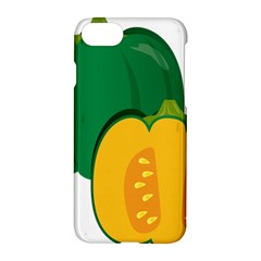 Pumpkin Peppers Green Yellow Apple Iphone 7 Hardshell Case by Mariart