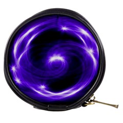 Purple Black Star Neon Light Space Galaxy Mini Makeup Bags by Mariart