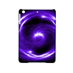 Purple Black Star Neon Light Space Galaxy Ipad Mini 2 Hardshell Cases by Mariart