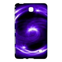 Purple Black Star Neon Light Space Galaxy Samsung Galaxy Tab 4 (8 ) Hardshell Case  by Mariart
