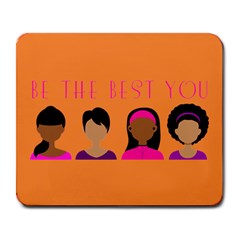 Black Girls Be The Best You Large Mousepad by kenique