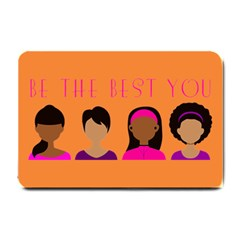 Black Girls Be The Best You Small Doormat by kenique