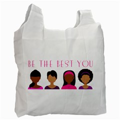 Black Girls Be The Best You Recycle Bag (one Side) by kenique