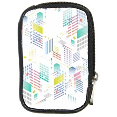 Layer Capital City Building Compact Camera Cases by Mariart