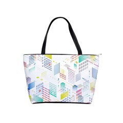 Layer Capital City Building Shoulder Handbags by Mariart