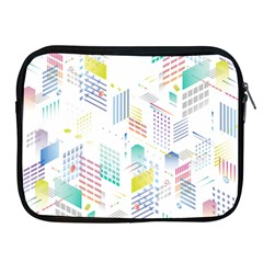 Layer Capital City Building Apple Ipad 2/3/4 Zipper Cases by Mariart