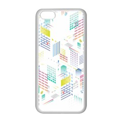 Layer Capital City Building Apple Iphone 5c Seamless Case (white) by Mariart