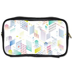 Layer Capital City Building Toiletries Bags