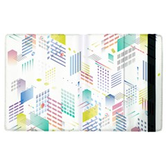 Layer Capital City Building Apple Ipad 2 Flip Case by Mariart
