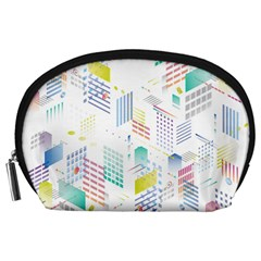 Layer Capital City Building Accessory Pouches (large)  by Mariart