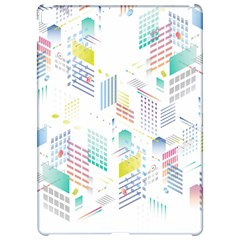 Layer Capital City Building Apple Ipad Pro 12 9   Hardshell Case by Mariart