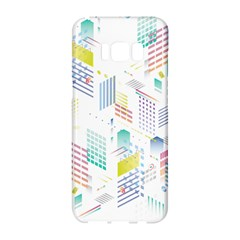 Layer Capital City Building Samsung Galaxy S8 Hardshell Case  by Mariart