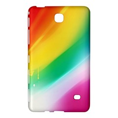 Red Yellow White Pink Green Blue Rainbow Color Mix Samsung Galaxy Tab 4 (8 ) Hardshell Case  by Mariart
