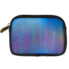Rain Star Planet Galaxy Blue Sky Purple Blue Digital Camera Cases by Mariart