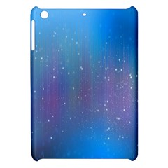 Rain Star Planet Galaxy Blue Sky Purple Blue Apple Ipad Mini Hardshell Case by Mariart