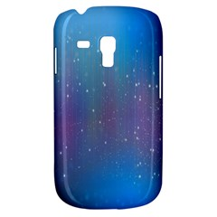 Rain Star Planet Galaxy Blue Sky Purple Blue Galaxy S3 Mini by Mariart
