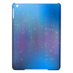 Rain Star Planet Galaxy Blue Sky Purple Blue Ipad Air Hardshell Cases by Mariart