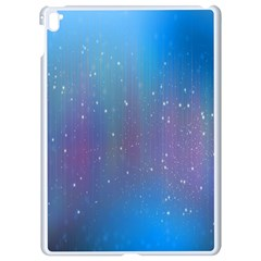 Rain Star Planet Galaxy Blue Sky Purple Blue Apple Ipad Pro 9 7   White Seamless Case by Mariart
