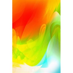 Red Yellow Green Blue Rainbow Color Mix 5 5  X 8 5  Notebooks by Mariart