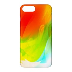 Red Yellow Green Blue Rainbow Color Mix Apple Iphone 7 Plus Hardshell Case by Mariart