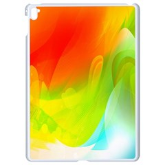 Red Yellow Green Blue Rainbow Color Mix Apple Ipad Pro 9 7   White Seamless Case by Mariart