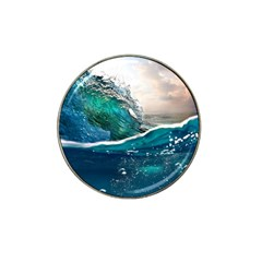 Sea Wave Waves Beach Water Blue Sky Hat Clip Ball Marker by Mariart