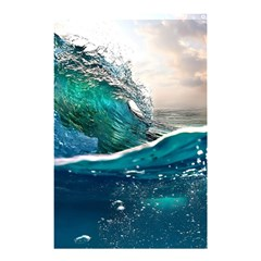 Sea Wave Waves Beach Water Blue Sky Shower Curtain 48  X 72  (small)  by Mariart
