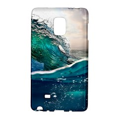 Sea Wave Waves Beach Water Blue Sky Galaxy Note Edge by Mariart