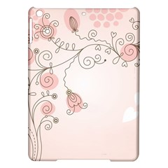Simple Flower Polka Dots Pink Ipad Air Hardshell Cases by Mariart