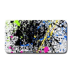 Spot Paint Pink Black Green Yellow Blue Sexy Medium Bar Mats by Mariart