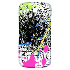 Spot Paint Pink Black Green Yellow Blue Sexy Samsung Galaxy S3 S Iii Classic Hardshell Back Case by Mariart