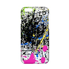 Spot Paint Pink Black Green Yellow Blue Sexy Apple Iphone 6/6s Hardshell Case by Mariart