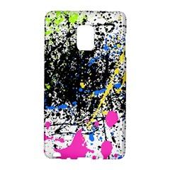 Spot Paint Pink Black Green Yellow Blue Sexy Galaxy Note Edge by Mariart
