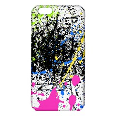 Spot Paint Pink Black Green Yellow Blue Sexy Iphone 6 Plus/6s Plus Tpu Case by Mariart