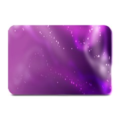 Space Star Planet Galaxy Purple Plate Mats by Mariart