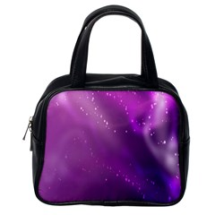 Space Star Planet Galaxy Purple Classic Handbags (one Side) by Mariart