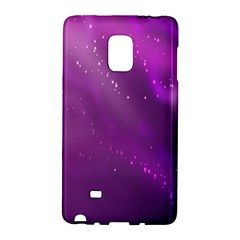 Space Star Planet Galaxy Purple Galaxy Note Edge by Mariart