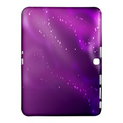 Space Star Planet Galaxy Purple Samsung Galaxy Tab 4 (10 1 ) Hardshell Case  by Mariart