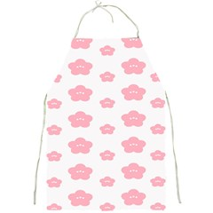 Star Pink Flower Polka Dots Full Print Aprons