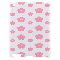 Star Pink Flower Polka Dots Apple Ipad 3/4 Hardshell Case by Mariart