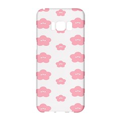 Star Pink Flower Polka Dots Samsung Galaxy S8 Hardshell Case  by Mariart